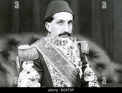 ABDUL HAMID II (1842-1918) 34a Sultán otomano