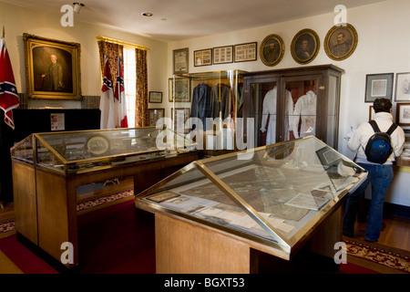 Primera Casa Blanca de la Confederación, interior, Montgomery, Alabama