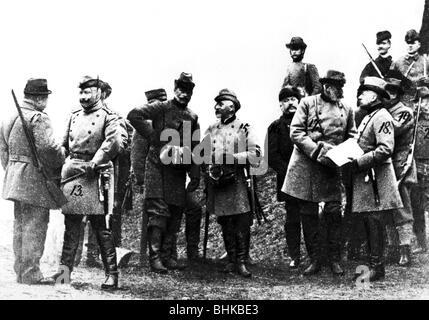 Guillermo II, 27.1.1859 - 4.6.1941, emperador alemán 15.6.1888 - 9.11.1918, caza, Grunewald, 23.10.1895, ,
