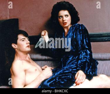 BLUE VELVET - 1986 De Laurentis film con Isabella Rossellini y Kyle MacLachlan, escrito y dirigido por David Lynch
