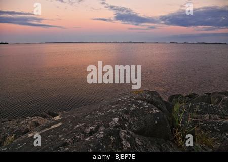 """Noche en el """"archipiélago de Estocolmo""""."""