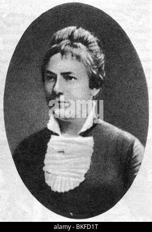 Zetkin, Clara, 5.7.1857 - 20.6.1933, político alemán (KPD), feminista, retrato, finales del siglo XIX,