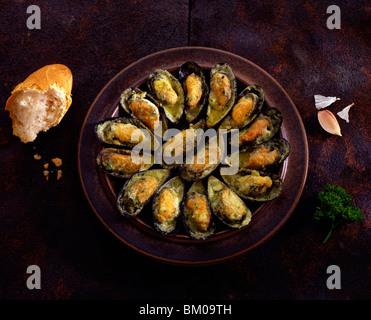 mejillones de ajo