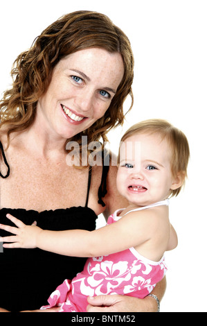 La madre y el niño Foto de stock