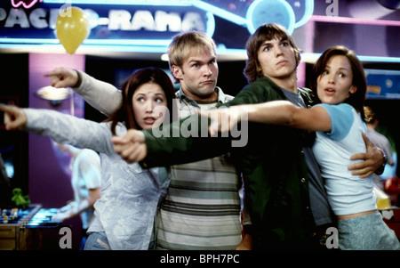 MARLA SOKOLOFF, SEANN WILLIAM SCOTT, Ashton Kutcher, Jennifer Garner, colega ¿Dónde está mi coche?, 2000