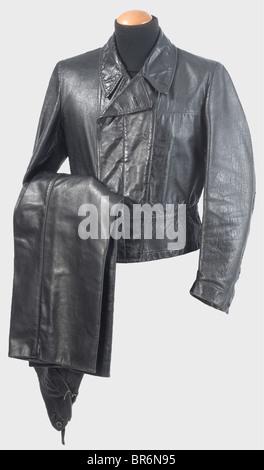 ... Una especial uniforme de cuero negro para tropas Panzer. bf71830e4db