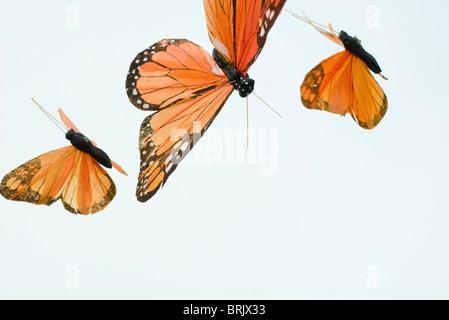 Las mariposas artificial