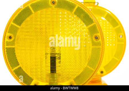 Luz de advertencia amarilla