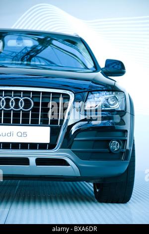 Presentación del nuevo modelo de coche de la marca Audi quattro Q5, SUV, crossover