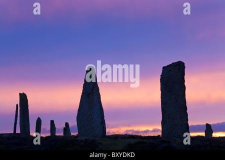 El anillo de Brodgar Standing Stones Islas Orkney Escocia