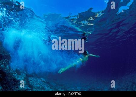 Nadar en el Mar Mediterráneo, Mar Adriático, Piran, Eslovenia