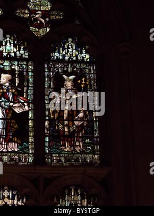 La Catedral de Canterbury Canterbury Chapter House Vidriera representando a san Anselmo