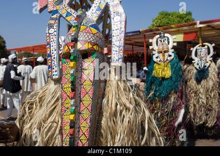 Malí, Sikasso ciudad, festividades, Bobo máscaras