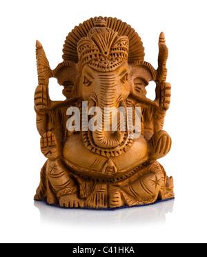 Sándalo estatua de Ganesha Foto de stock