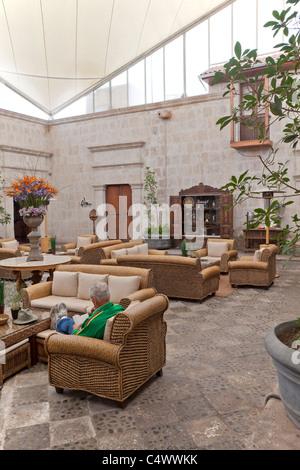 Interior de la Casa Andina Private Collection Arequipa, Perú