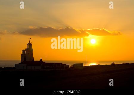 St Catherines Lighthouse Sunset,