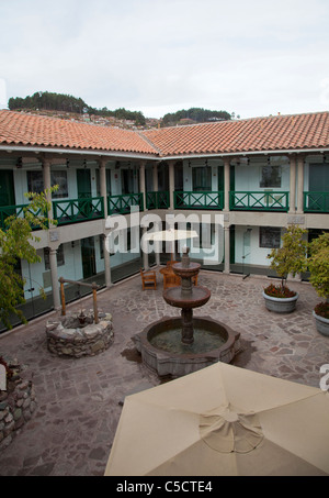 Interior de la Casa Andina Private Collection Hotel en Cusco, Peru.