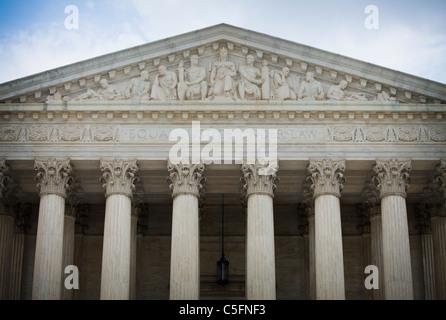 El Tribunal Supremo de los Estados Unidos edificio a 1 Primer Street NE, Washington D.C., EE.UU.