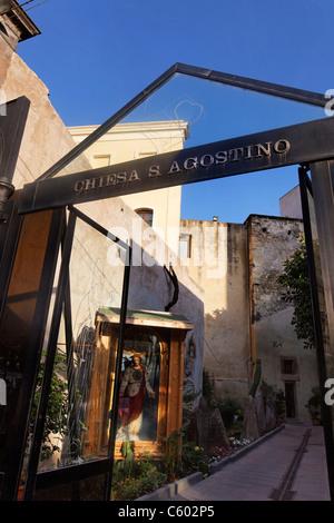 Chiesa S Agostino , Cagliari , Italia Cerdeña