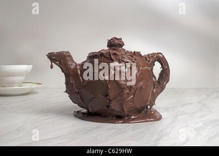 Tetera de chocolate