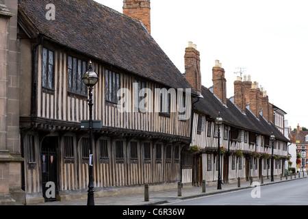 Church Street, Stratford-upon-Avon, Warwickshire. UK