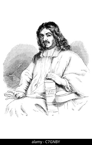 Retrato John English escritor cristiano predicador famoso escritor escribir autor El Progreso del Peregrino Iglesia Bautista Reformada