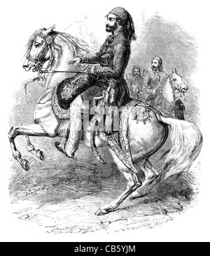 Omar Pasha Latas gobernador general Imperio Otomano Guerra de Crimea