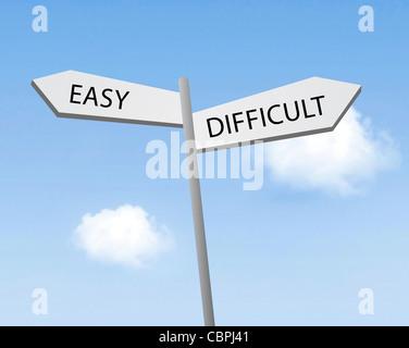 Fácil o difícil