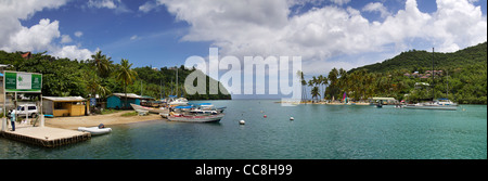 La hermosa isla de Santa Lucía