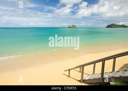 La laguna con el más austral del mundo, los arrecifes de coral, el Mar de Tasmania, la isla de Lord Howe, Nueva Gales del Sur, Australia