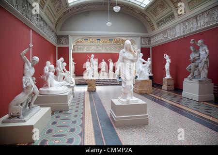 Interior, NY Carlesberg Glyptotek Art Museum, Copenhague, Dinamarca, Escandinavia, Europa
