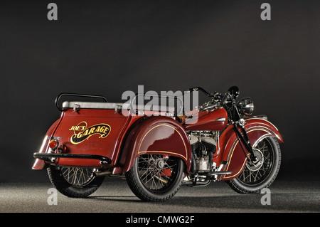 1940 despacho indio remolcar 3 wheeler