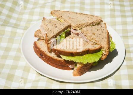 Comida de picnic cerca foto imagen de stock 23603492 - Platos para picnic ...