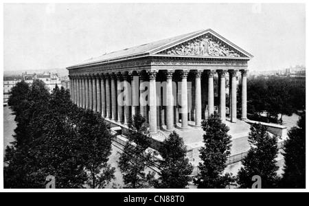 Publicado por primera vez en 1915, la Iglesia de la Madeleine París Francia