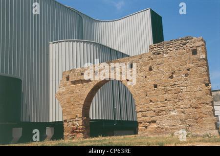 Lazio - Roma, Auditorium Parco della Musica (arquitecto Renzo Piano, 1994-2002). El hall del auditorio Sinopoli