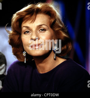 Berger, Senta, * 13.5.1941, actriz austriaca, retrato, 1989,