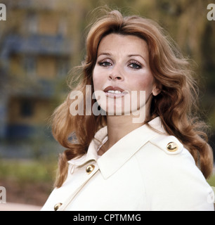 Berger, Senta, * 13.5.1941, actriz austriaca, retrato, 1970, ,