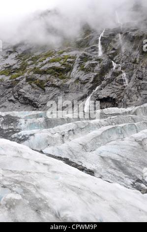 Glaciar Franz Josef Costa Oeste, Isla del Sur, Nueva Zelanda