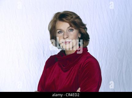Berger, Senta, * 13.5.1941, actriz austriaca, retrato, 1998,