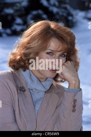 Berger, Senta, * 13.5.1941, actriz austriaca, retrato, 1992,
