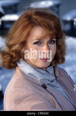 Berger, Senta, * 13.5.1941, actriz austriaca, retrato, 1992, ,