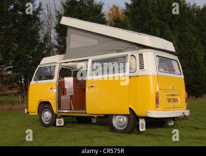 Ventana de bahía VW Volkswagen camper van, micro bus