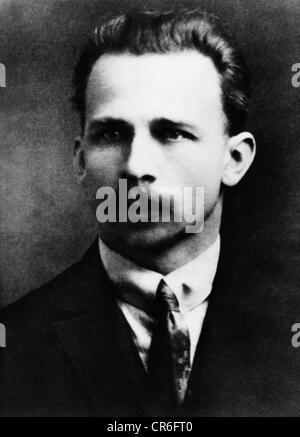 Ulbricht, Walter, 30.6.1893 - 1.8.1973, político alemán (KPD), retrato, 1920, ,