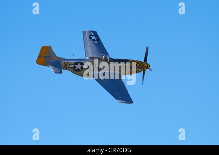 P-51 Mustang - Avión de combate estadounidense