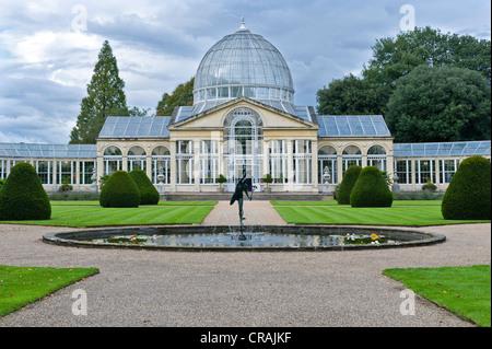 Efecto invernadero, modelo para el Crystal Palace de Londres, Syon House, duque de Northumberland, la residencia Foto de stock