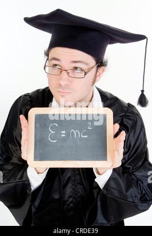 Se gradúan con junta de negro, la teoría de la relatividad