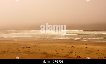 Refugio Beach State Park oregon océano o mar ca california campistas waves water vista horizontal apariencia