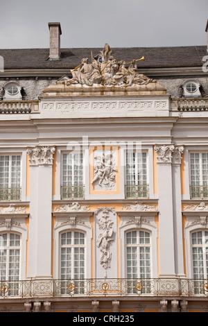El palacio de Augustusburg, patrimonio mundial de la UNESCO de Bruehl, Renania del Norte-Westfalia, Alemania