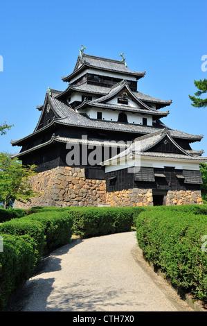 Castillo, de la ciudad de Matsue Matsue, prefectura de Shimane, Japón, Honshu