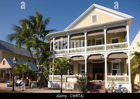 Las tiendas de la calle Duval Old Town Historic District Key West, Florida, EE.UU.